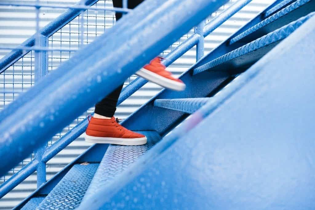 steps, staircase, climbing